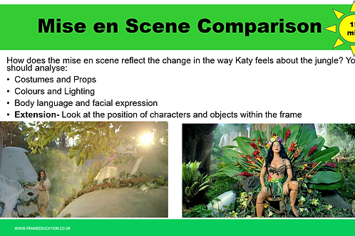 Katy Perry Roar Music Video Lesson Package