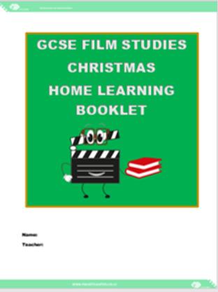 GCSE Film Studies Christmas Home Learning Booklet