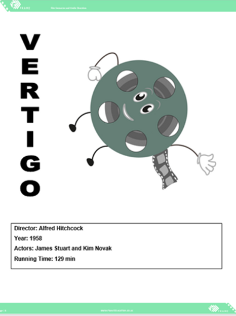 A Level Film Vertigo Viewing Booklet
