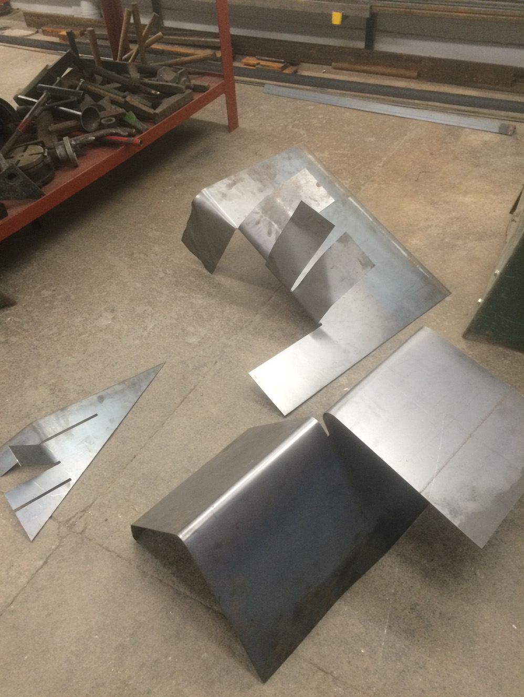 Large Metal works