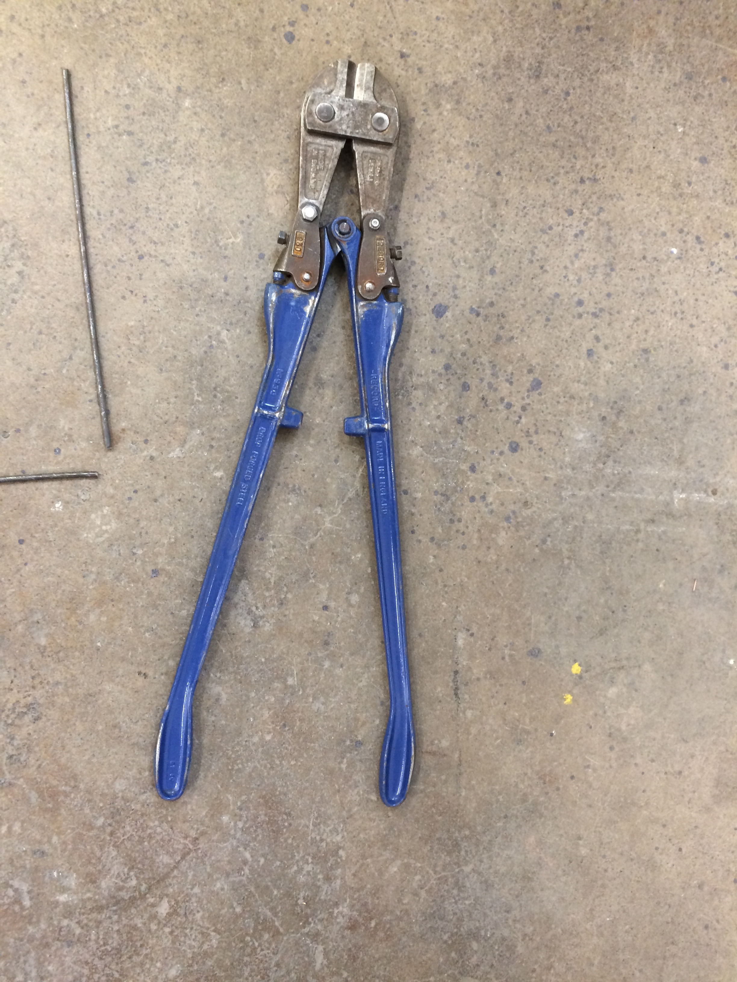 new tool for chopping metal