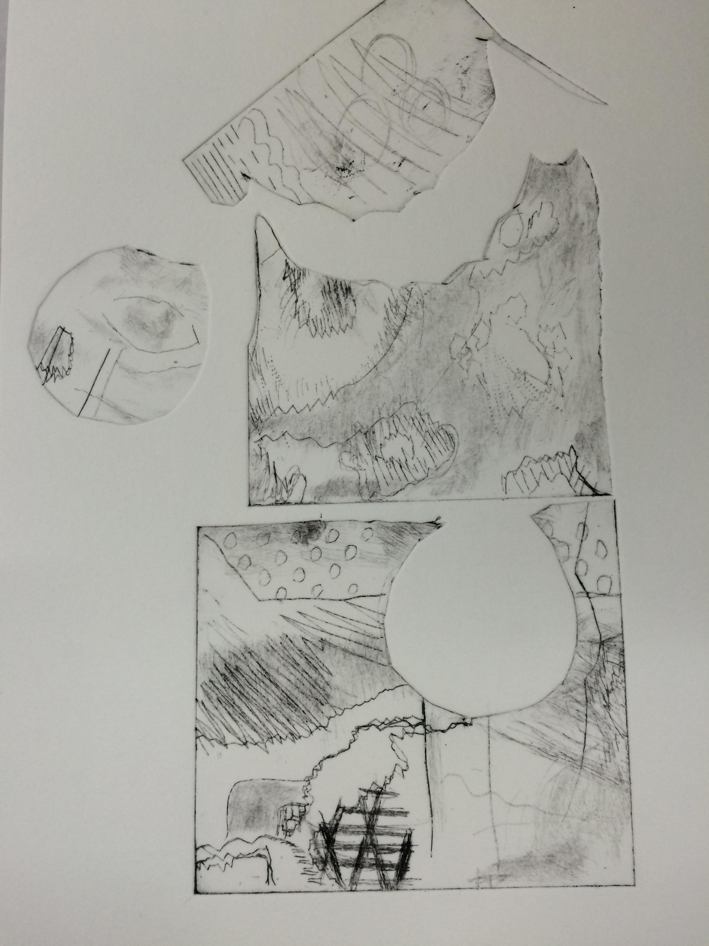 Etching print