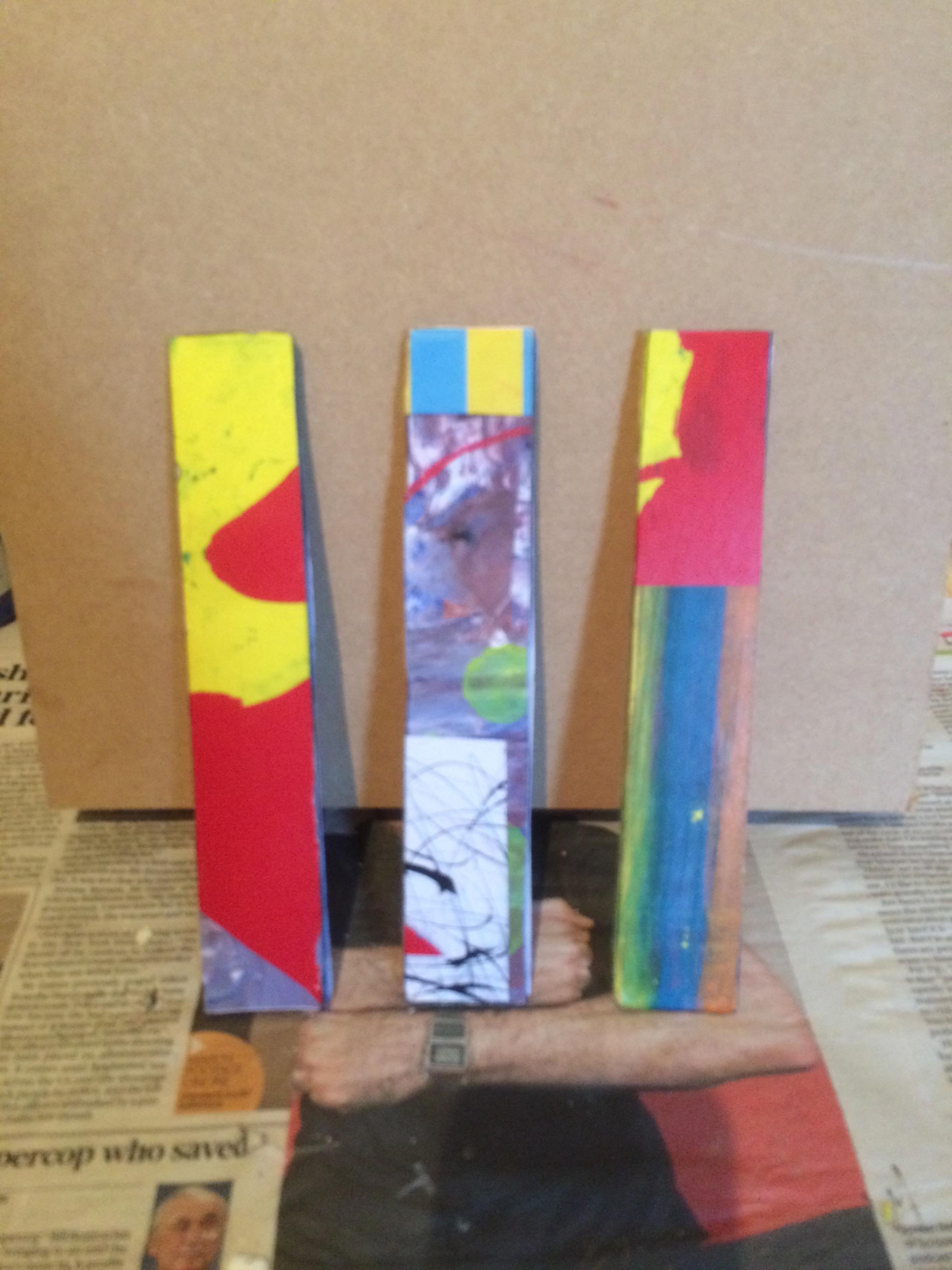 collage sticks for larger work
