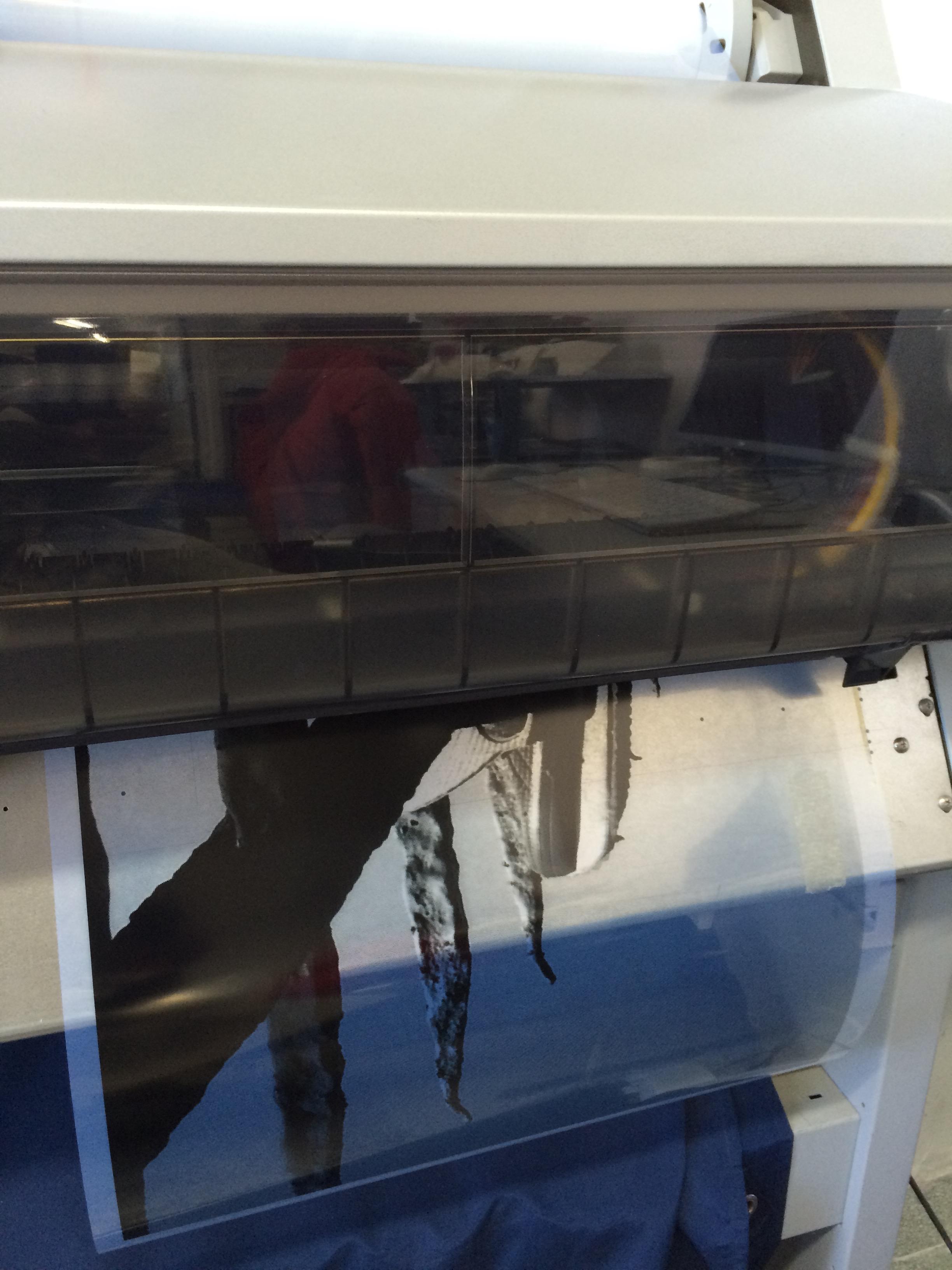 Lost & Found Large Digital printing machine