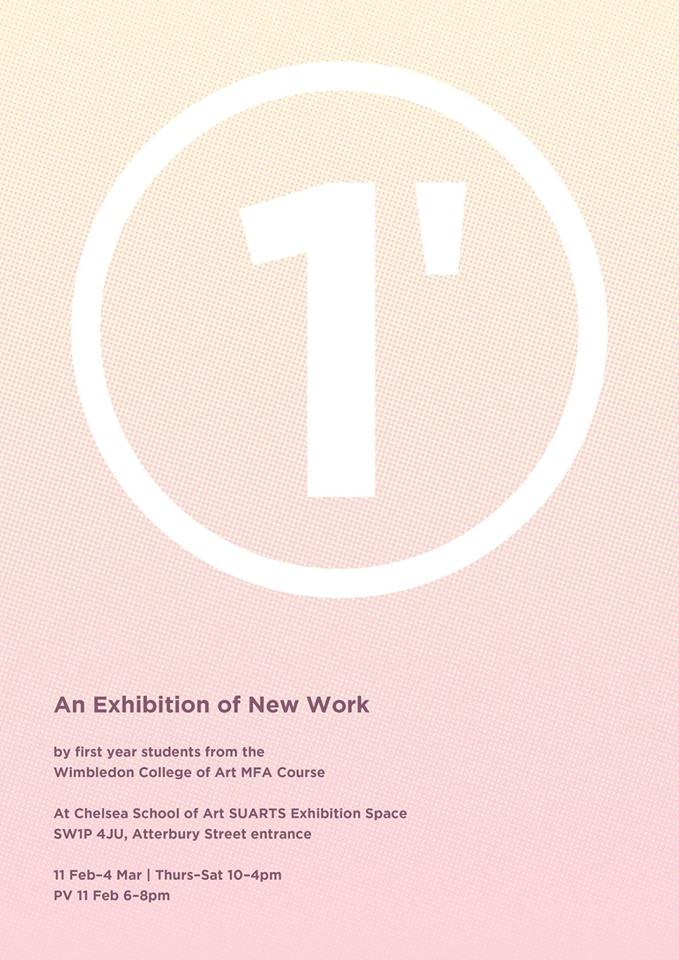 1' Exhibition Flyer