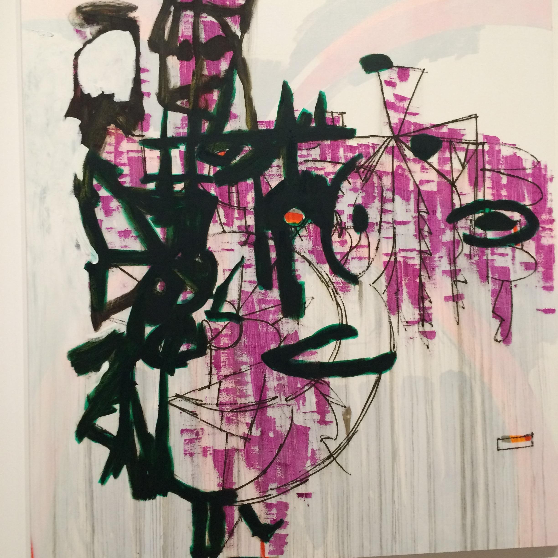 Charline Von Heyl painting