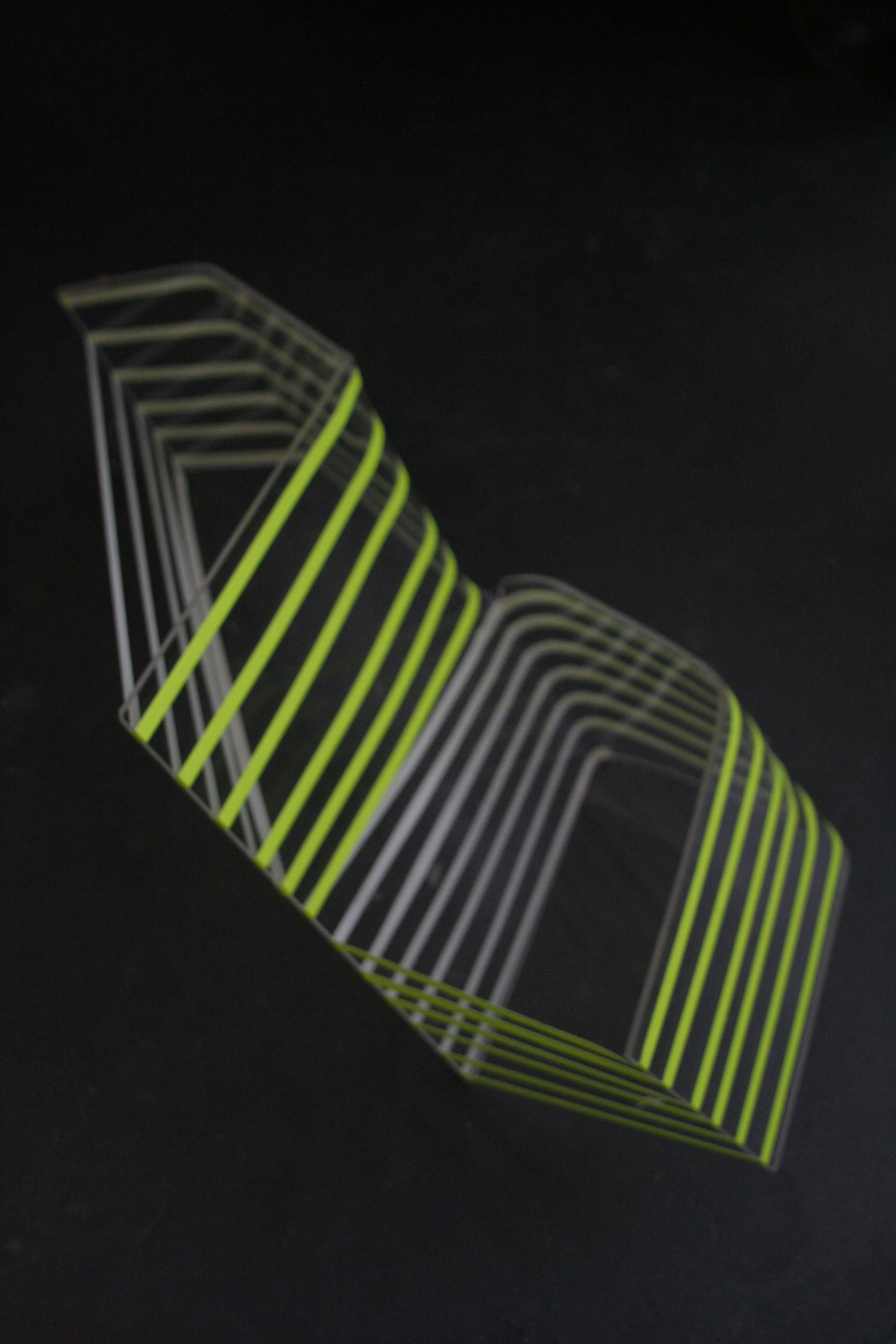 Spaces (perspex, tape)
