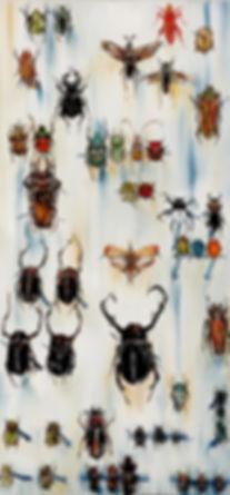 13-4표본-Specimen--45cm-x-95cm--oil-on-can