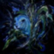 kk03)검은물밑에서-Under-the-black-water_-oil-o