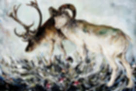 03-박제짐승-Stuffed-animal-194x130cm-oil-on-
