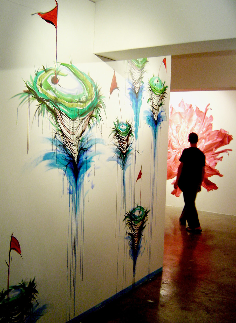 Gallery175 , Wall Painting , 2006