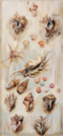 13-1-표본-Specimen--45cm-x-95cm--oil-on-ca
