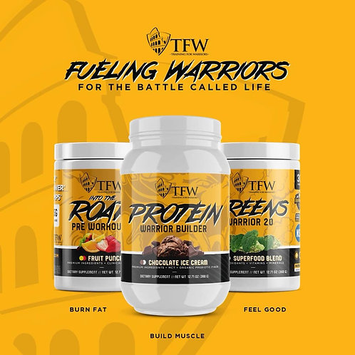 TFW Nutrition For Warriors Supplements