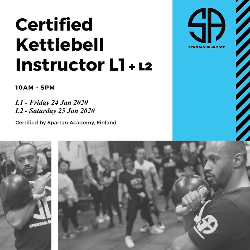Kettlebell Instructor Course L1 & L2