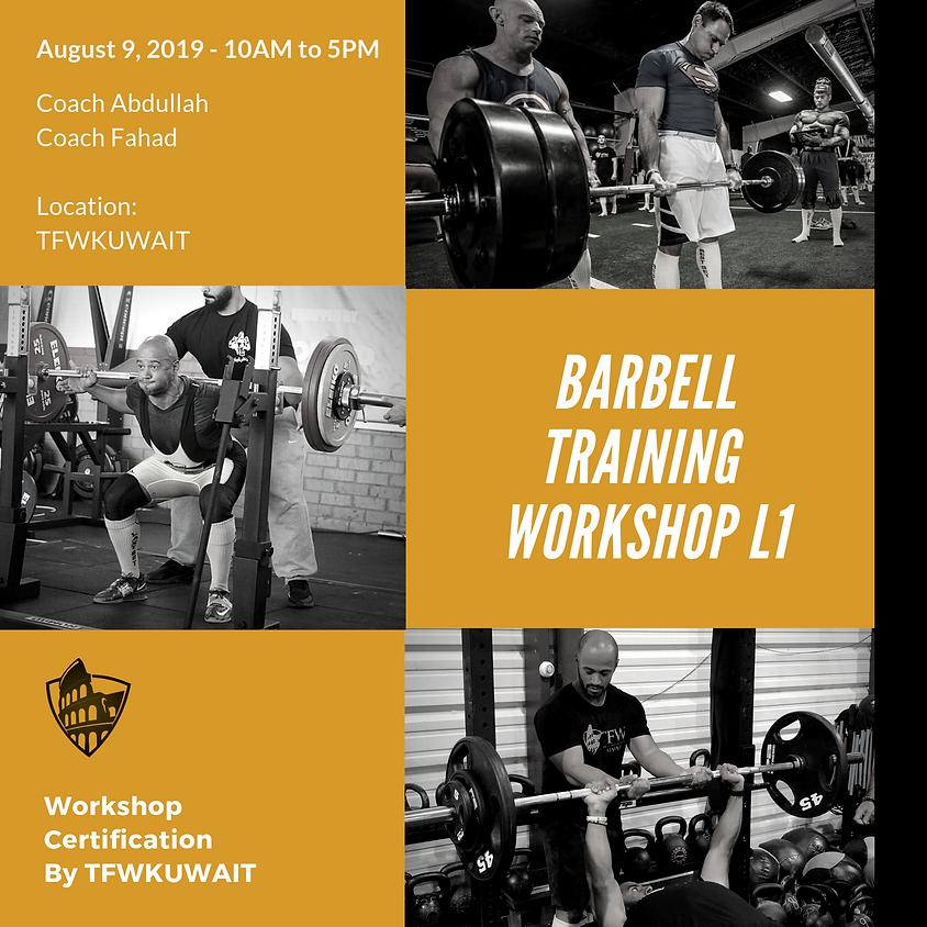 TFW Barbell Training Workshop Level 1