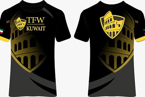 TFWKUWAIT 6th anniversary Blach T-Shirt