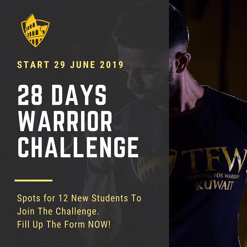 28 Days Warrior Challenge