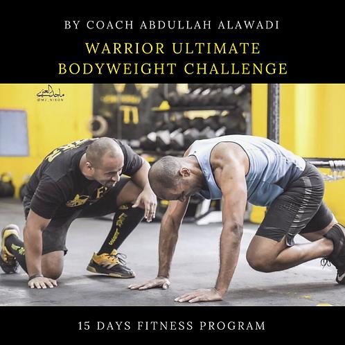 Warrior Ultimate Body Weight Challenge