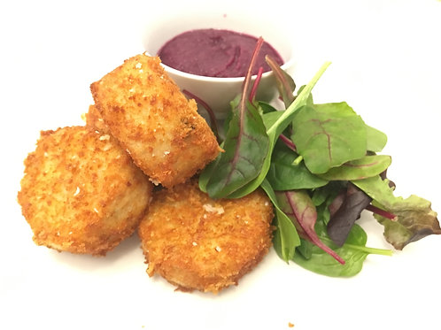 Chicken Nuggets with Red Cabbage Ketchup Serves 4