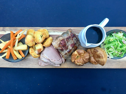 Roast Rib of Beef with all the trimmings Serves 6