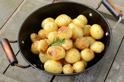 Roasted New Potato Salad serves 4