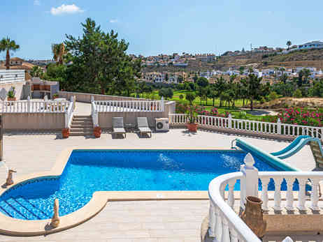 View Overlooking Private Swimming Pool & Golf Course