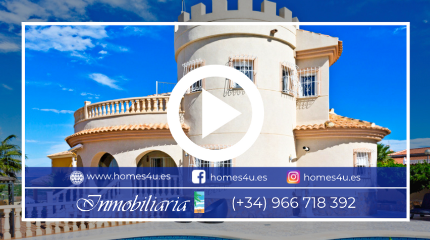Villa For Sale With Sea Views In Ciudad Quesada Video Tour - QRS 8155.png