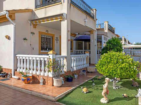Front Tiled Garden