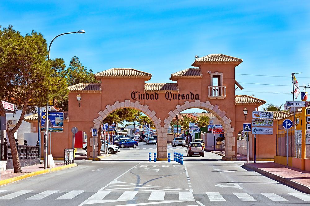 Ciudad Quesada Entrance... Welcome!
