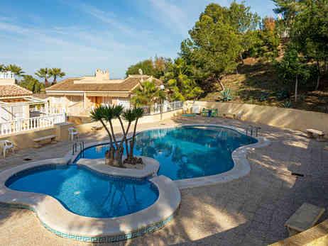 Villa With Communal Swimming Pool