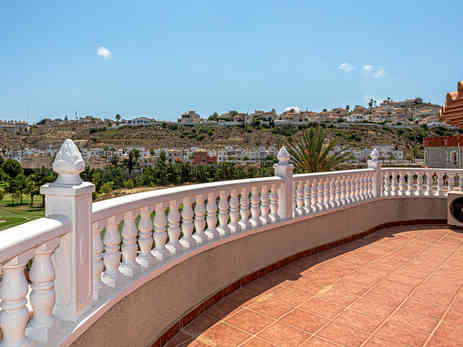 Bedroom 4, Terrace Overlooking Golf Course