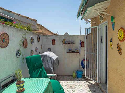 Tiled Courtyard