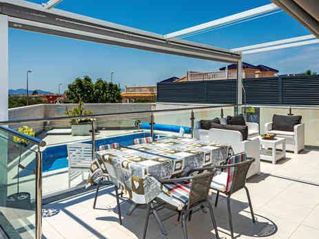 Tiled Terrace