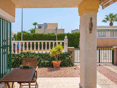 Front Tiled Terrace