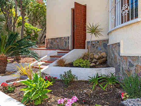 Property Entrance From Private Pool