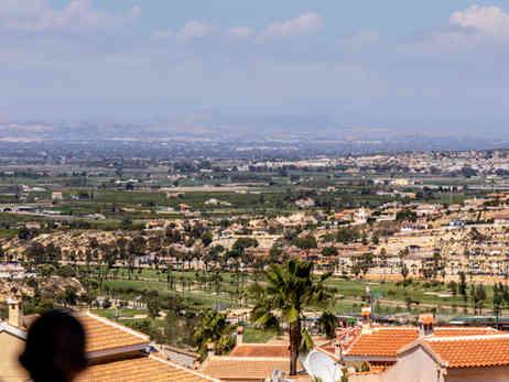 Home With Golf & Sea Views In Ciudad Quesada