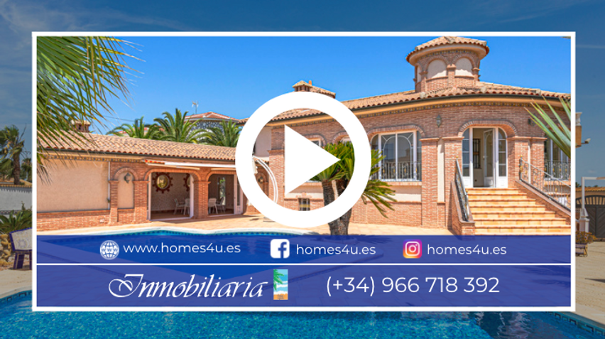 Villa For With Sea And Lake Views For Sale In Ciudad Quesada Video Tour - QRS 9388.png