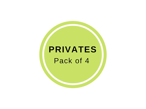 Private Class Package of 4