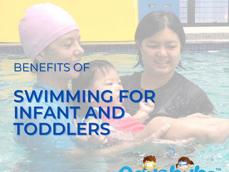 Benefits of swimming for infant and toddlers