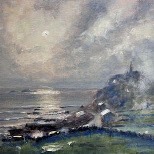 Cape Cornwall - Mist Rising