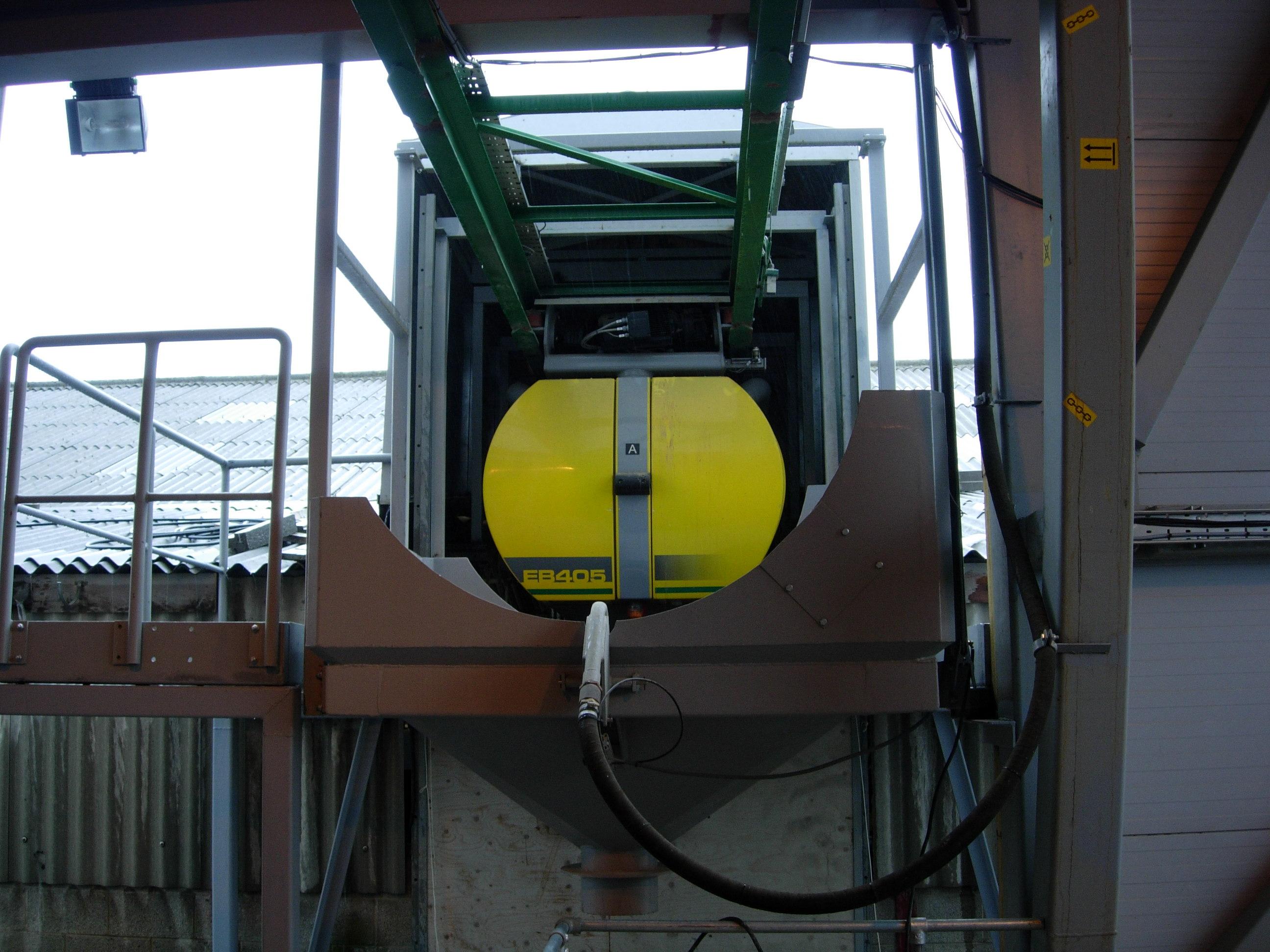 Longley's New Concrete Plant