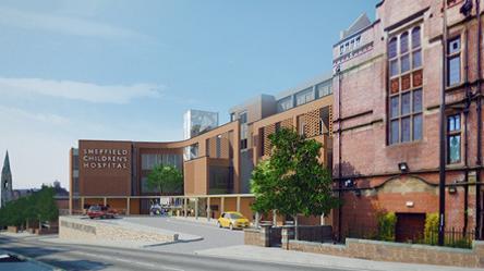 New Extension Sheffield Children's