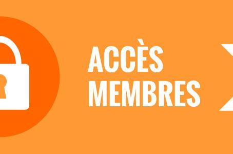 Accès membres