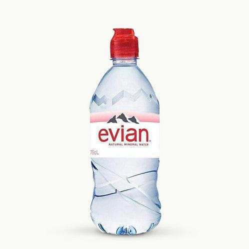 Evian - Sport Top Plastic 75cl