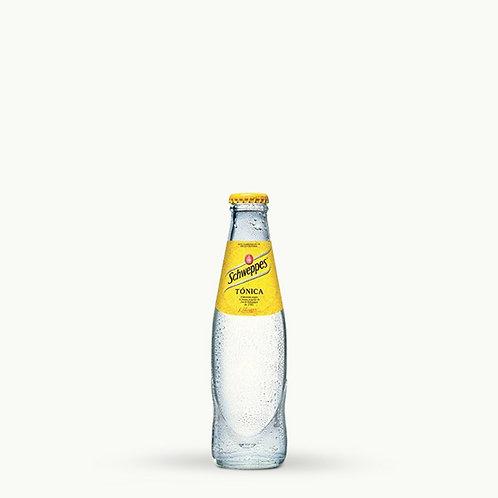 Schweppes Tonic Zero Glass Bottles 25cl