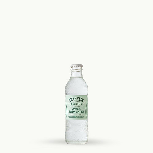 Franklin & Sons - Soda Water 20cl