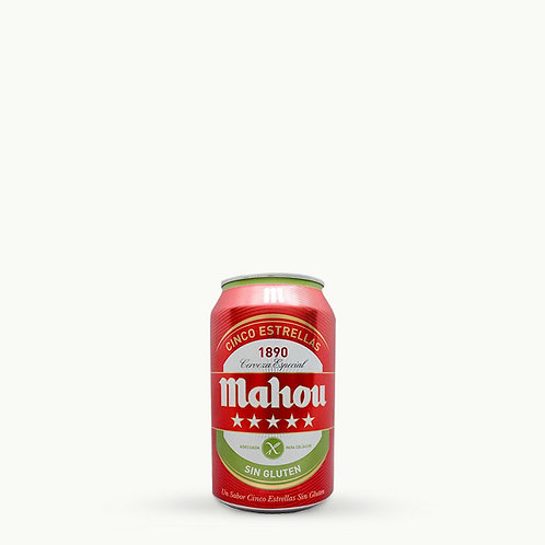 Mahou Can Gluten Free 33cl