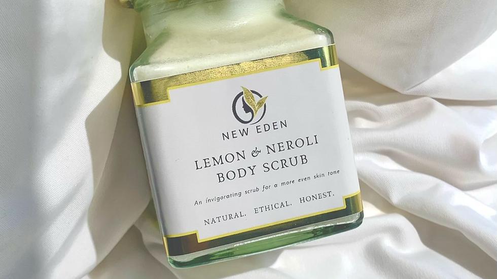 Lemon & Neroli Body Scrub 200ml