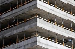construction of office blocks