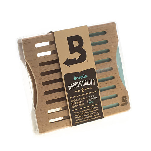 BOVEDA 60 gram 2 pack holder SIDE BY SIDE